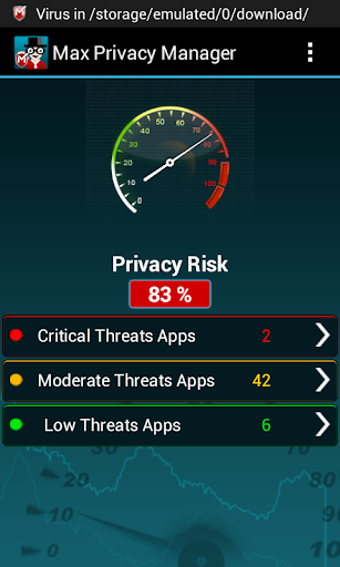 Max Privacy Manager screenshot 1
