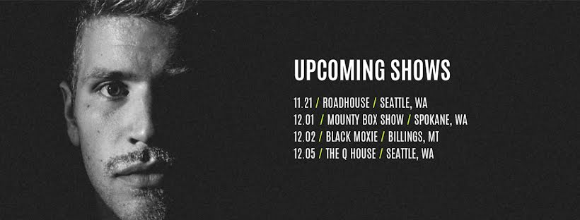 Upcoming Shows - Facebook Page Cover Template