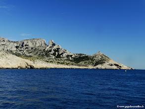 Photo: #022-Les Calanques de Marseille, le bec de Sormiou.