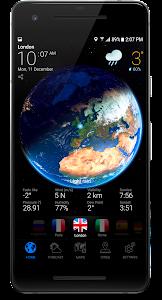 3D EARTH - accurate weather forecast & rain radar 1.1.8 (AdFree)