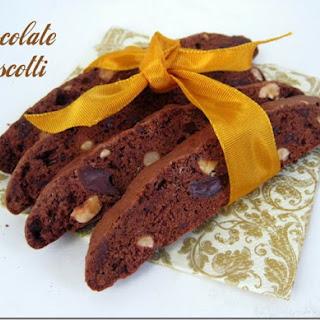 Chocolate Biscotti.
