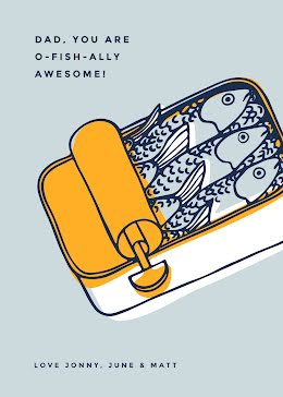 O-Fish-Ally Awseome - Father's Day item