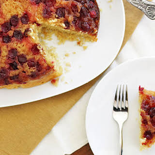 Slow-Cooker Cranberry Upside-Down Cake.