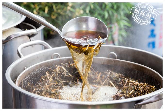 十八味養身茶製作過程