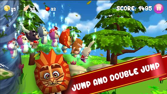 Baby Pet Run: Jungle Adventure screenshot 1
