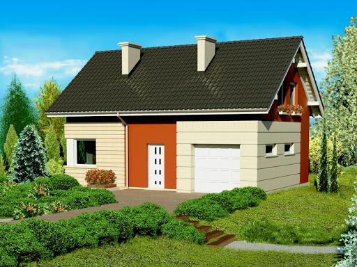 projekt Dom przy Polnej 2
