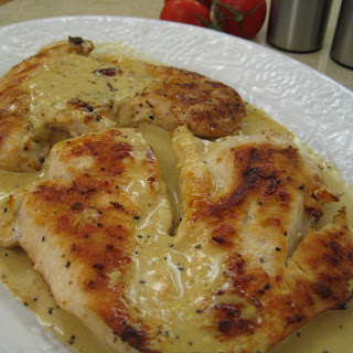 Chicken Breast in Shawarma Cream Sauce.