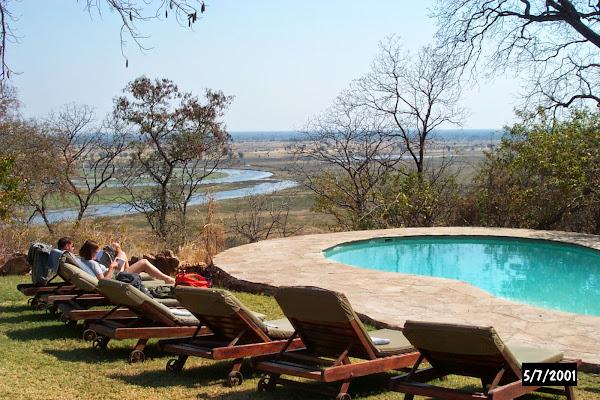 Muchenje overlooking the Chobe