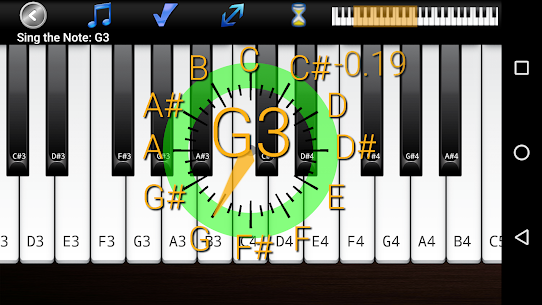 Voice Training Pro Added Solfege Option APK Mod for Android 1