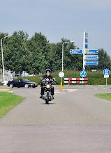 Photo: Jan Guichelaar was er al, zodat hij ons op de foto kon vastleggen toen we aan kwamen rijden