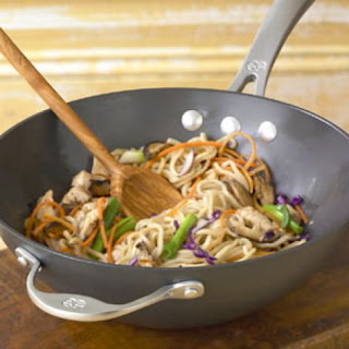 Braised Noodles with Chicken and Vegetables Recipe