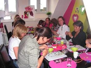 Photo: Workshop Grifioen, de eerste workshop in het atelier! 2007