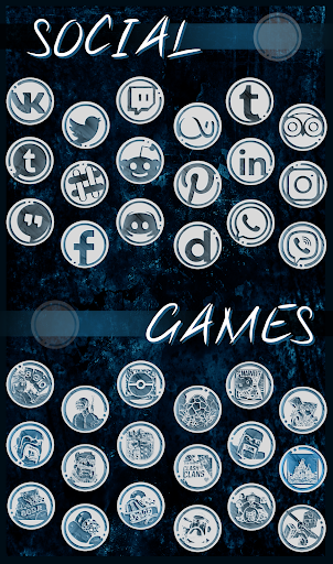 Download The Lox Icon Pack - a light version of Azulox MOD APK 2