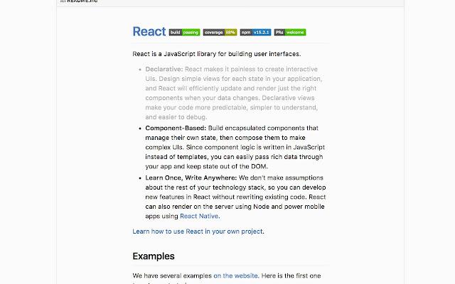 Readable README