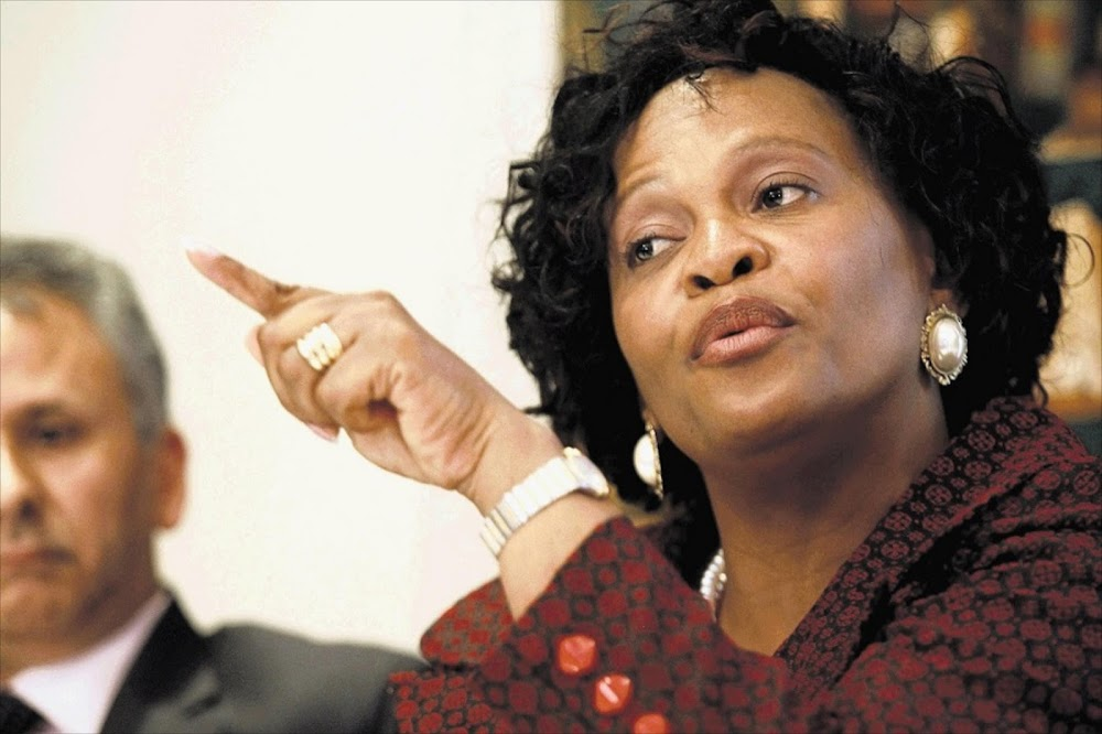 Ramaphosa praises 'Mama Action' Nomvula Mokonyane's ANC work