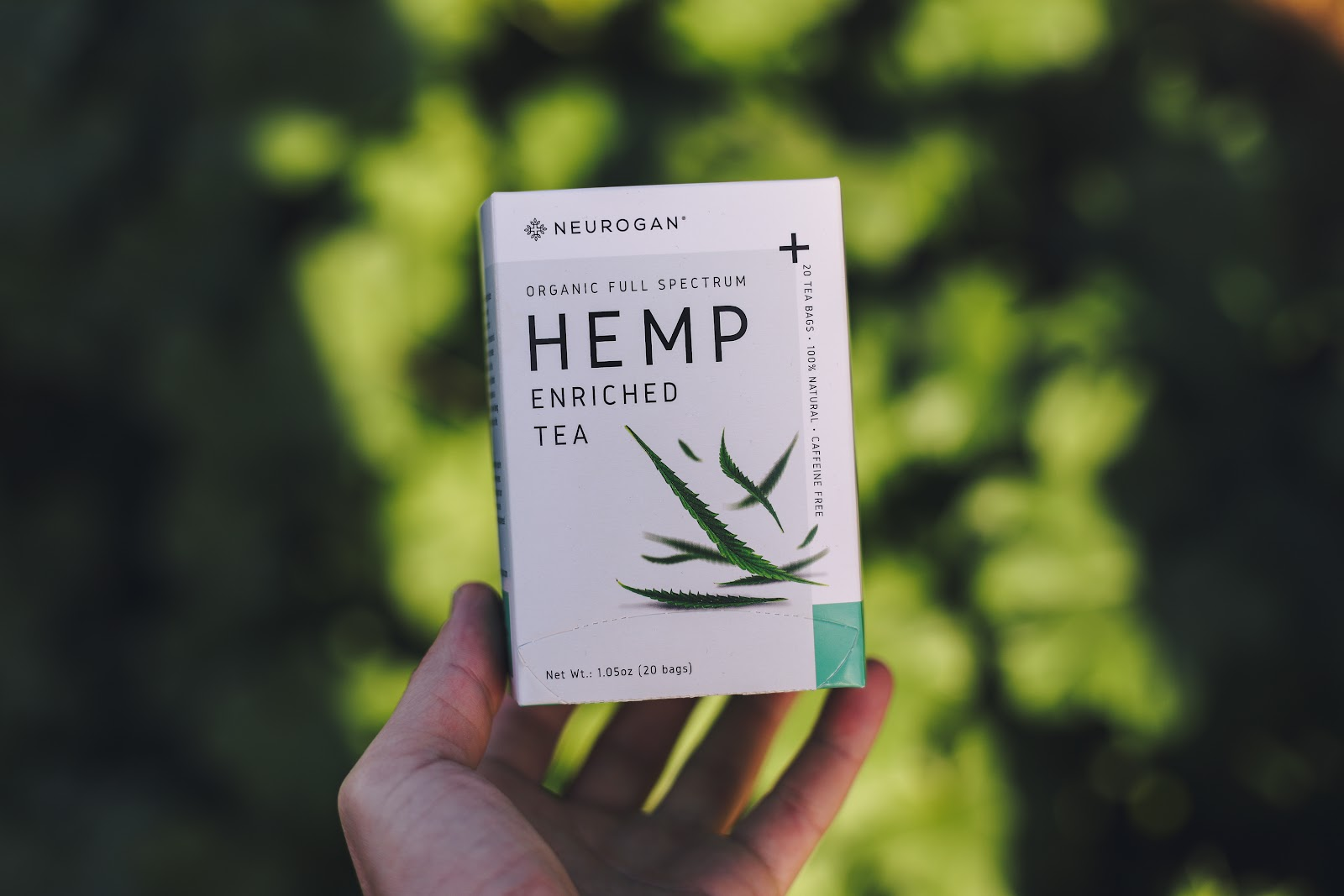 neurogan hemp enriched tea
