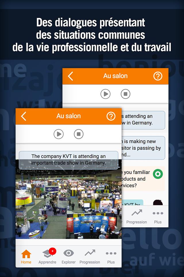 Apprendre l'Anglais Business Screenshot 2