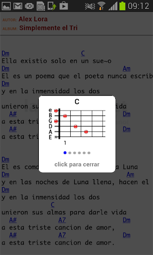 Tabs & Chords in Spanish screenshot 3
