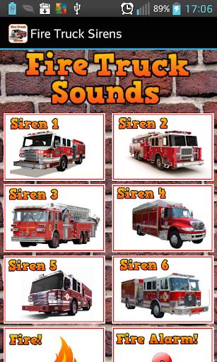 Fire Truck Sirens