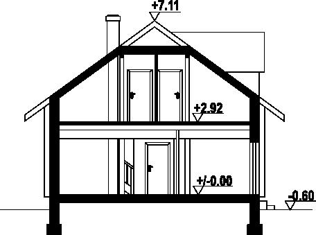 Osiek 34 dw - Przekrój