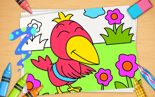 Zoo Animals: Wildlife Coloring