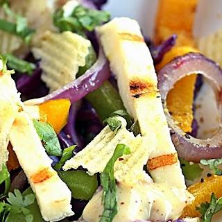 Crunchy Grilled Vegetable Salad Recipe