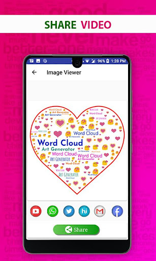 Word Cloud Art Generator screenshot 8