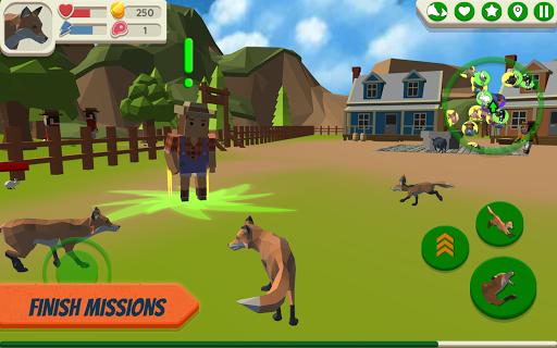 Fox Family - Animal Simulator 3d Game  screenshots 9