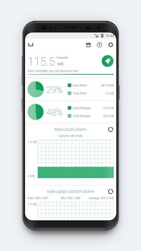 RAM Booster (Memory Cleaner) screenshot 1