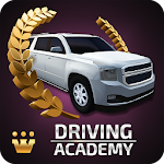 Car Driving Academy 2018 3D Icon