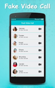 Fake Video Call : Girlfriend FakeTime prank App Download For Android 6