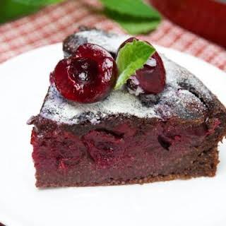 Decadent Chocolate Cherry Dump Cake.