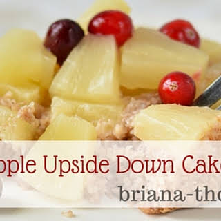 Pineapple Upside Down Cake in a Mug.