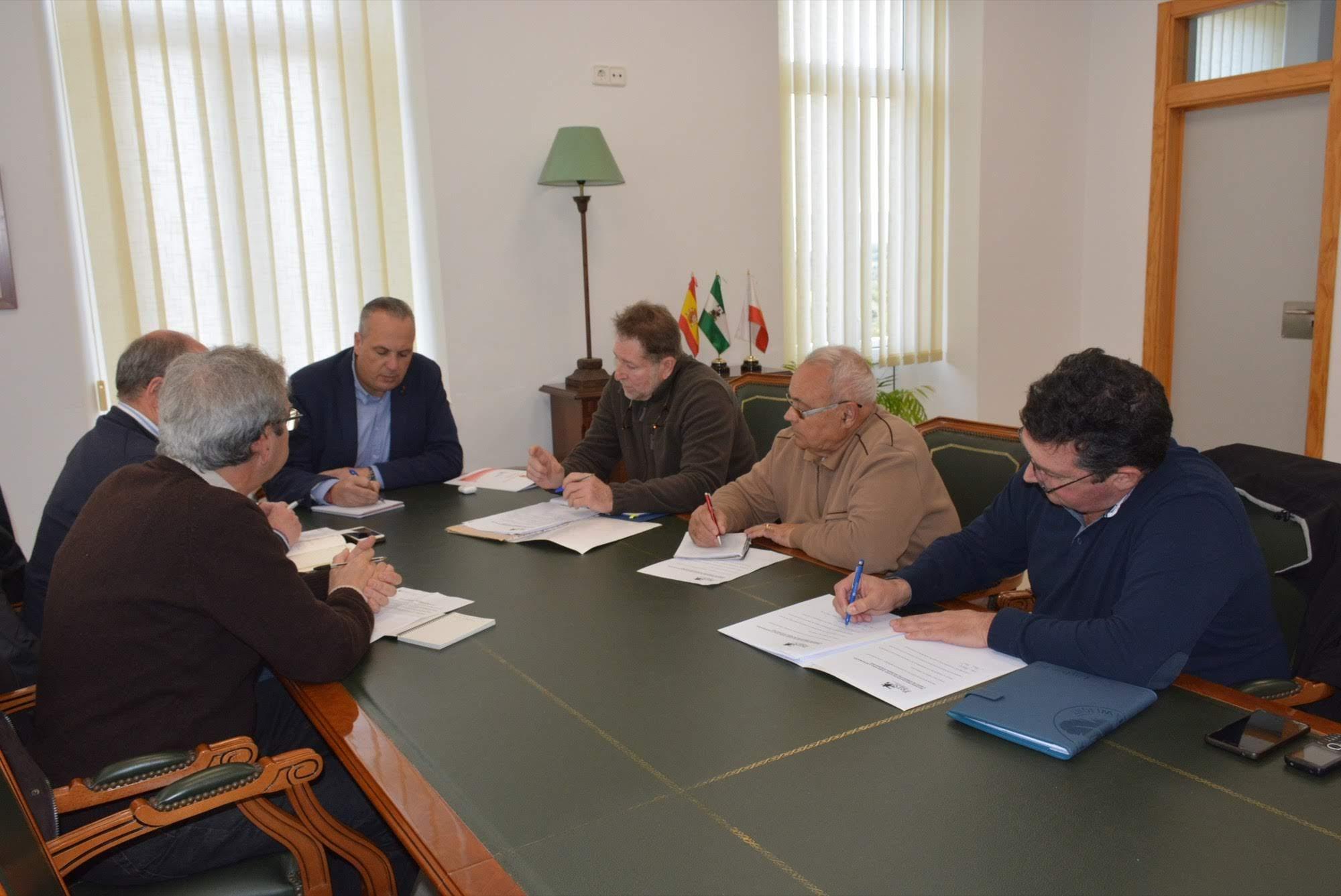Ayuntamiento de San Roque y Foro por la Memoria mantienen su colaboración en diversos asuntos