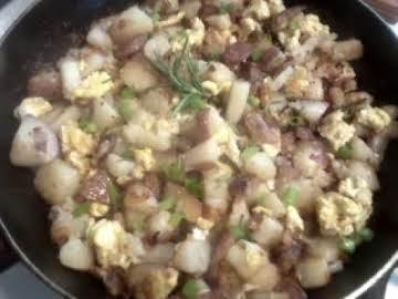Rosemary Potato Egg Skillet