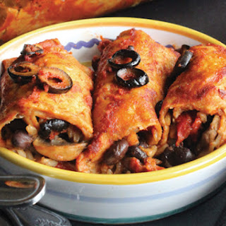 Vegetable Enchiladas