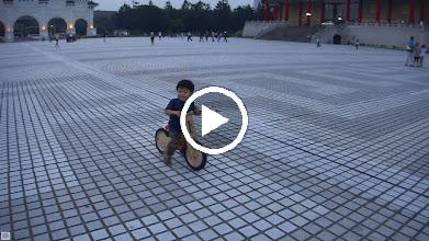 Video: 中正紀念堂 滑車追麻雀