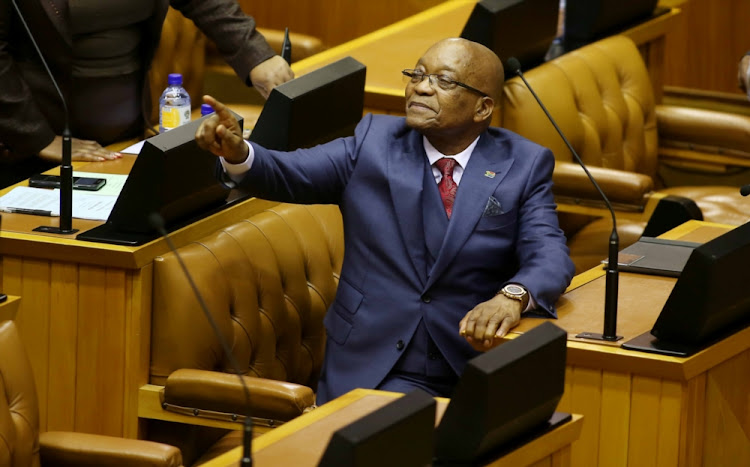 President Jacob Zuma will address the nation at 10pm on Wednesday night, following calls for him to resign as head of state. File picture.