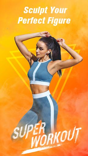 Super Workout - Female Fitness, Abs & Butt Workout