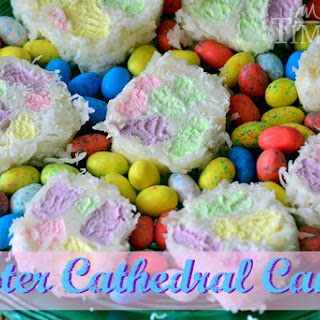 Easter Cathedral Cookies
