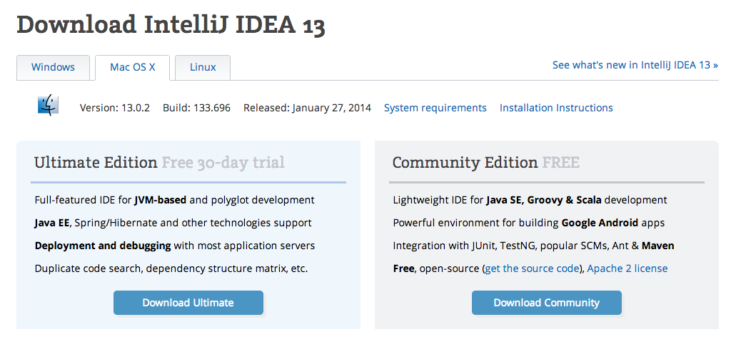 Installing the Best Android Dev Environment: Intellij IDEA