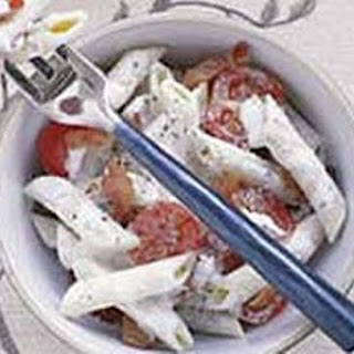 Bacon Tomato Presto Pasta
