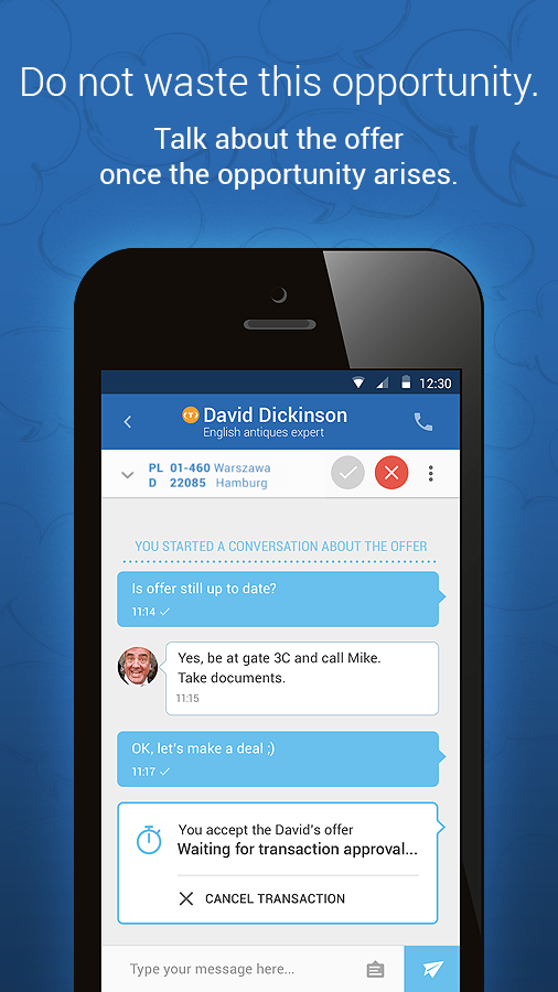 TransMessenger- screenshot
