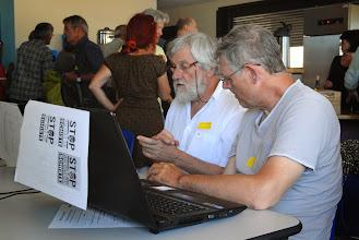 Photo: Forum ouvert du Collectif 07 le 30 juin 2013 - S'INTERROGER, S'ORGANISER, AGIR ENSEMBLE  FACE AUX MENACES ACTUELLES - © Olivier Sébart