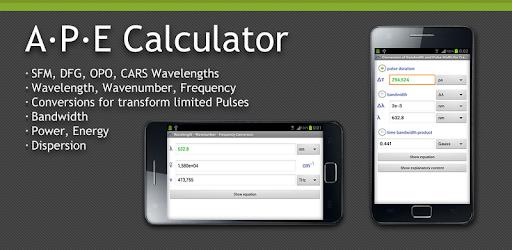 APE Optics Calculator - Apps on Google Play