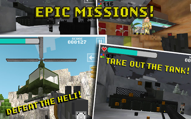 Block Gun 3D: Ghost Ops Game