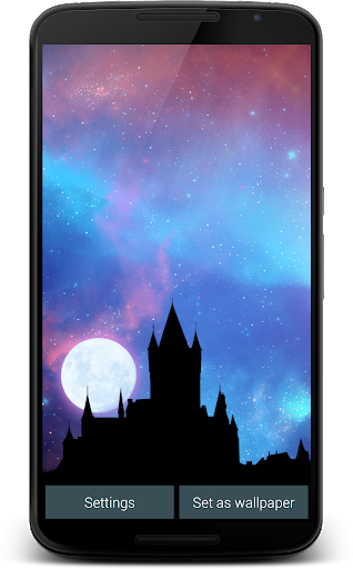 Nightfall Live Wallpaper Free screenshot 11