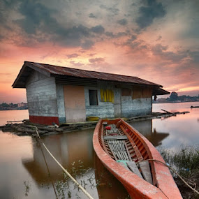 SUNSET BOAT by Danang Sujati - Buildings & Architecture Homes