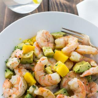 Shrimp Avocado and Mango Salad