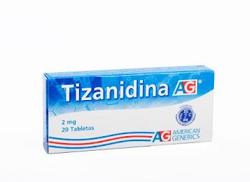 Tizanidina AG 2mg Tableta